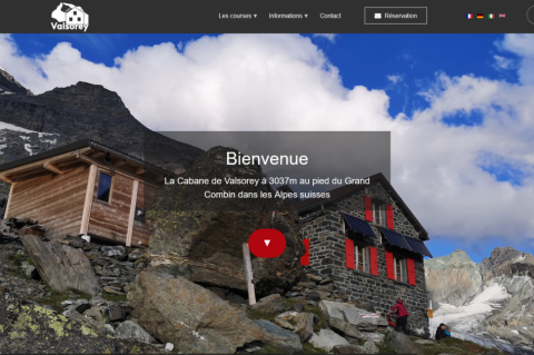 Capture Website Cabane Valsorey
